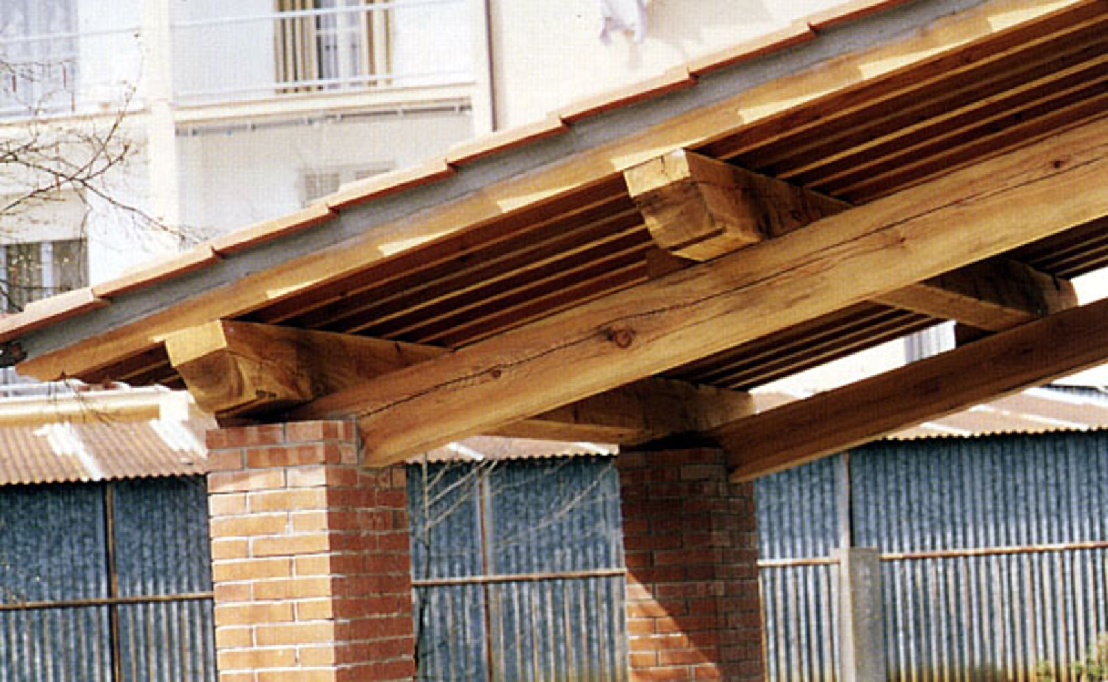 I tetti rustici realizzati da Legno Marchetti