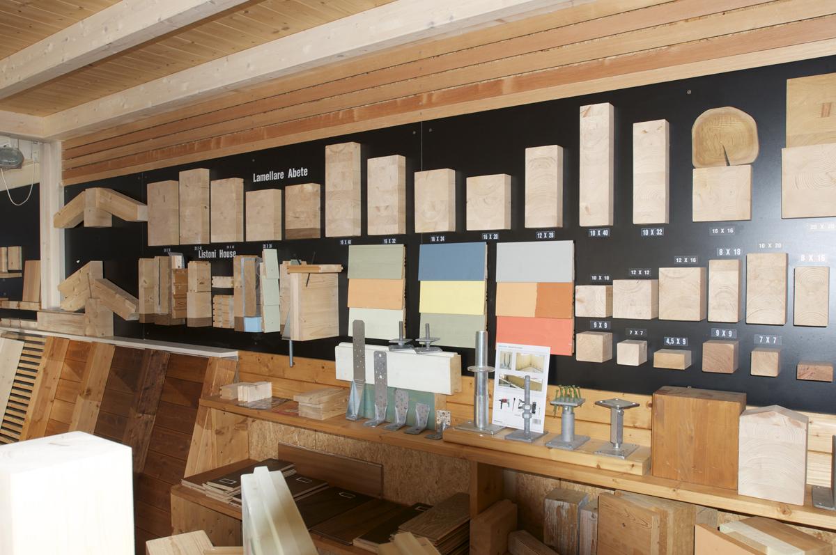 Il nostro showroom - Legno Marchetti